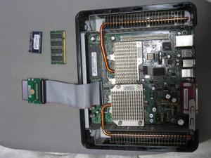 CF IDE変換基板との接続