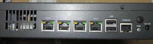 DNA940のバックパネル
